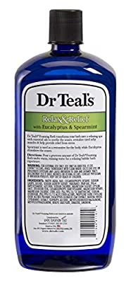 Dr. Teal's 34 oz. Eucalyptus Spearmint Foaming Bath