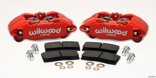 Wilwood Direct Bolt-On DPHA Forged Calipers 90-01 Acura Integra / Honda Civic / 02-03 Honda Civic SI (RED) ()