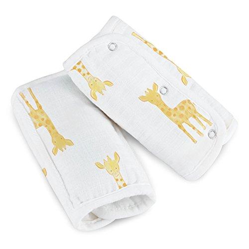 aden by aden + anais Strap Cover, Safari Babes- Giraffes Giraffe Car Seat Cover