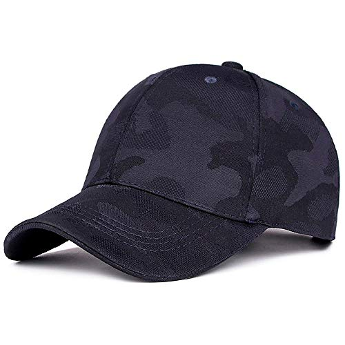 (Botrong Unisex Men Women Camouflage Baseball Cap Snapback Hat Hip-Hop Adjustable Printed Caps)