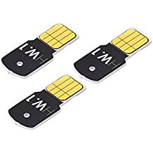 3 pack bundle Ledger HW.1 cold storage safe hardware wallet for secure BTC Bitcoin storage