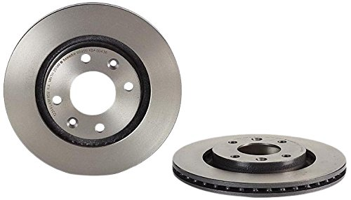 3 opinioni per Brembo 09.8695.11- Disco Freno Anteriore con verniciatura UV- Set di 2 dischi