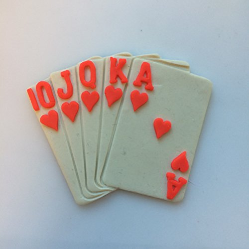 Royal Flush Cards Cookie Cutter Sets (4 inches)