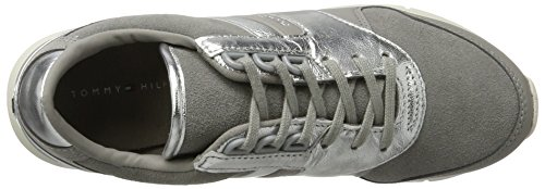 Tommy Hilfiger Dame S1285kye 1c1 Sneaker Grå (lysegrå) GuKTmbknoF