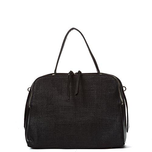 Handbag Republic Women Fashion PU Leather Shoulder Bag Top-Handle Handbag Satchel Bag Style Design Purse