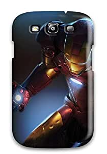 New Premium SPSPNkT14741CWczg Case Cover For Galaxy S3/ Iron Man Protective Case Cover