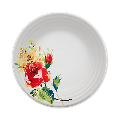 Floral Accent Plate - Fiesta 9