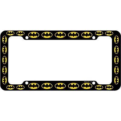 CHROMA 42519 Black Batman Logo Plastic Frame: Automotive