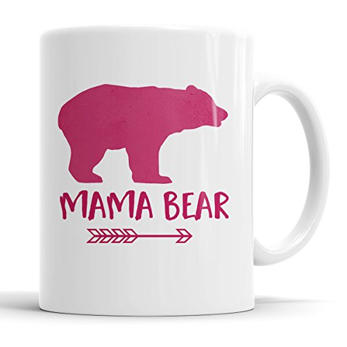 Mama Bear Pink Arrow Coffee Mug