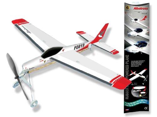 White Wings Albatross Sailplane Rubber Band Powered Plane -