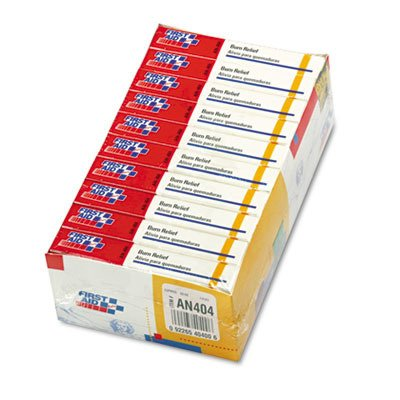 First Aid Only Fao AN404 AN-404 Burn Treatment Pack Refills for ANSI-Compliant Kits/Cabinets (Pack of 60)