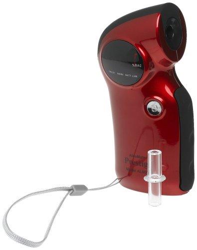 AlcoMate Prestige Breathalyzer, Red
