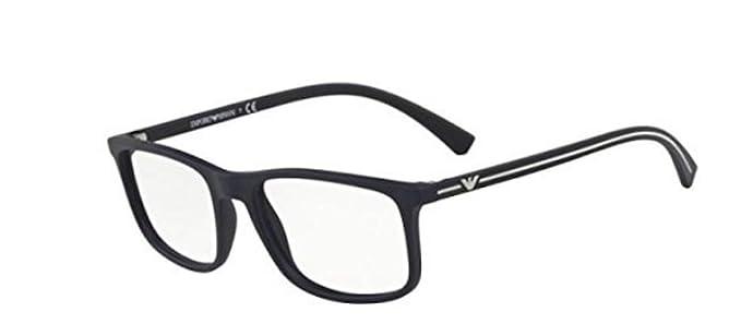 aed1c72dc38 Emporio Armani EA 3135 Black 55 18 140 Men Eyewear Frame at Amazon ...
