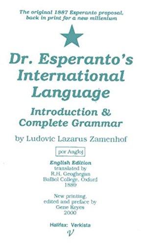 Dr. Esperanto's International Language