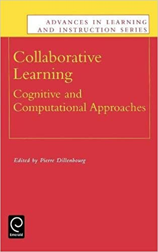 Collaborative Learning Cognitive And Computational Approaches