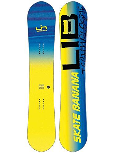 Lib Tech Banana - Lib-Tech - Mens SK8 Banana Snowboard 2018, Yellow, 156W