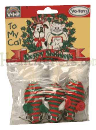 VoToys Christmas Braided Mice 3 Pack