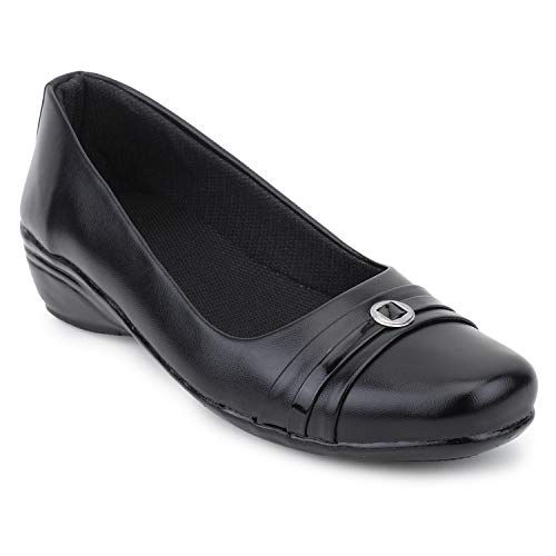 Stepee Womens Formal Shoes Casual Belly for Womens Girls Synthetic Leather Office Shoes for Womens