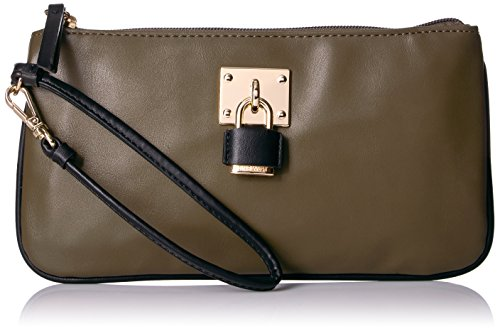 Nine West60467502 - Sac à main Table Treasures, Femme matelassée Vert militaire / noir