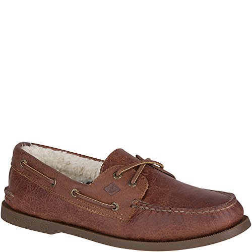Sperry Top-sider Mens Autentico Originale Scarpa Da Barca Inverno Tan