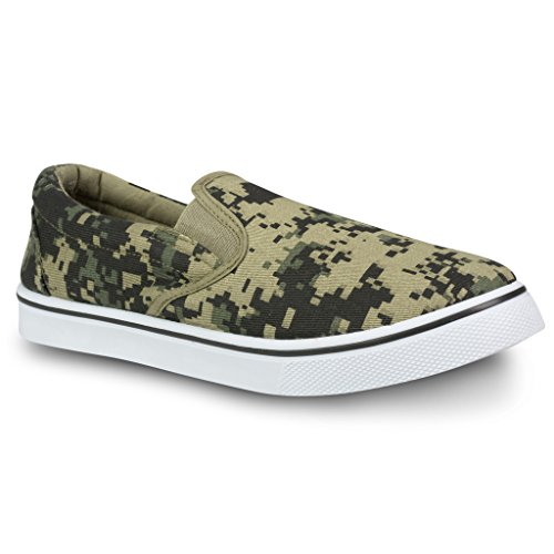 Influence Mens Gore Slip-On Casual Sneaker Camo pf9I81