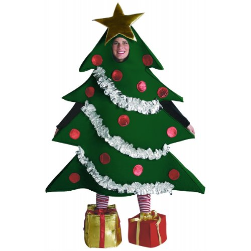 Rasta Imposta Christmas Tree Costume, Green, One Size ()