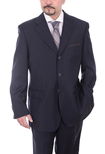 carlo-palazzi-navy-blue-tonal-striped-three-button-wool-suit-made-in-italy