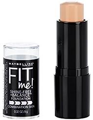 Maybelline Fit Me Shine-Free + Balance Stick Foundation...