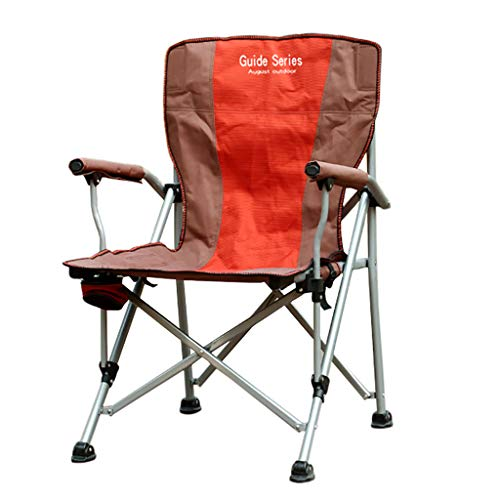 Milisome World Outdoor Folding Chair Leisure Armchair Fishing Chair Comfortable Breathable Carrying Stool Director Beach Camping Chair ()