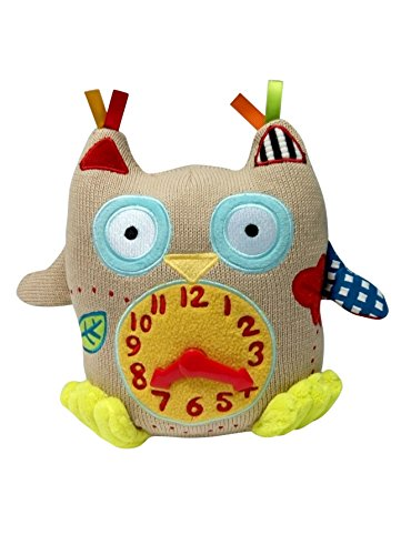 Magformers Dolce My First Owl Clock Interactive Stuffed Animal Plush toy 9