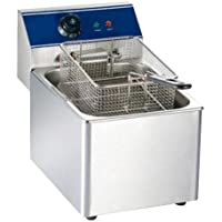Bhavya enterprises Stainless Steel Electric Fryer 6L (21.5-inch, Silver)