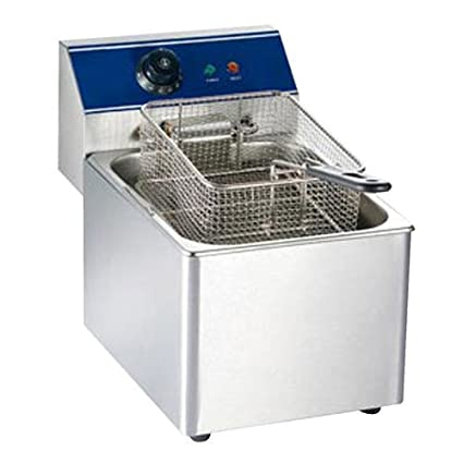 Bhavya enterprises 6.2 Litre Electric Deep Fryer (Silver)