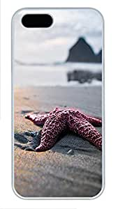 Case For Iphone 4/4S Cover Sea Star Close Up PC Custom Case For Iphone 4/4S Cover Cover White