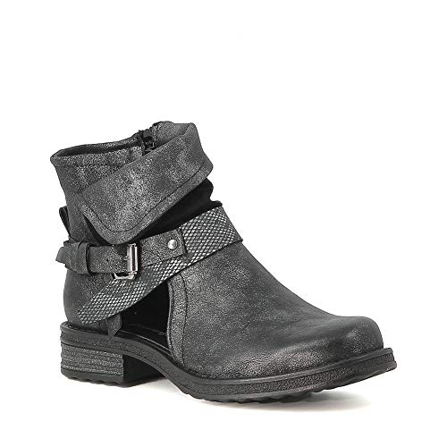 Misstic Boots Noir Ajourées Ajourées Boots Misstic Ajourées Noir Misstic Boots wx47qTg
