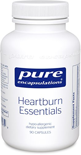 Pure Encapsulations - brûlures d'estomac Essentials - complément alimentaire contribue à la diminution des Occurrences de brûlures d'estomac occasionnelles et Indigestion * - 90 Capsules