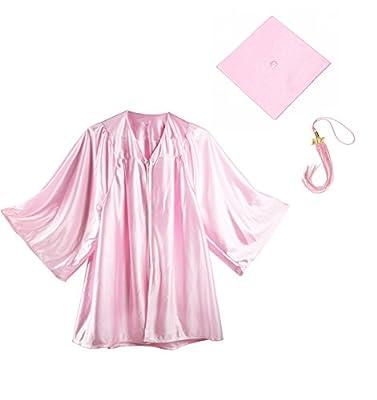Derhom Kindergarten Graduation Gown Cap Tassel Set