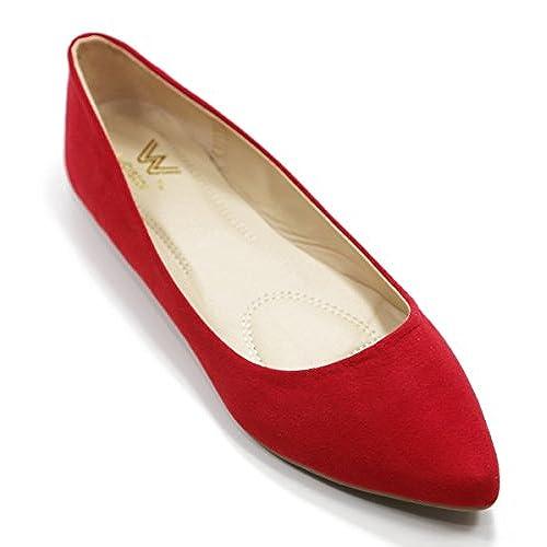 Walstar Womens Ballerina Ballet Flat Shoes