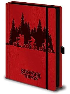Stranger Things Cuaderno de Notas con Espiral A5, Multicolor ...
