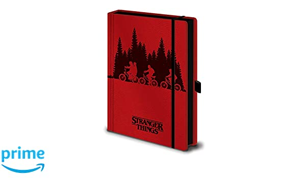 Stranger Things Upside Down - Cuaderno de notas A5: Amazon ...