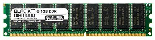 1GB RAM Memory for HP 9000 Series Servers Rp3440-1 184pin PC2100 DDR UDIMM 266MHz Black Diamond Memory Module ()