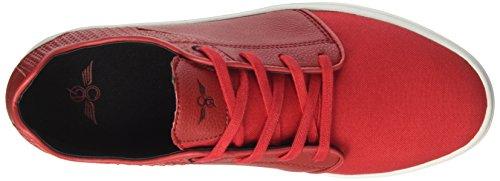 Creative Recreation Santos, Zapatillas de Estar por Casa para Hombre Rojo