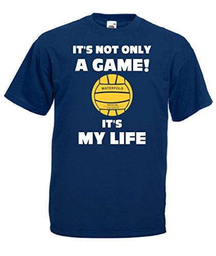 Blu Navy shirt T Water My Sport It's Pallanuoto Uomo Cheideastore Life Maglietta Polo 51nwx71d0