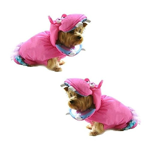 Dog Costume Pink Hippopotamus Dress Dogs As Hippos Wild Zoo Animal by Defonia Petsupplies