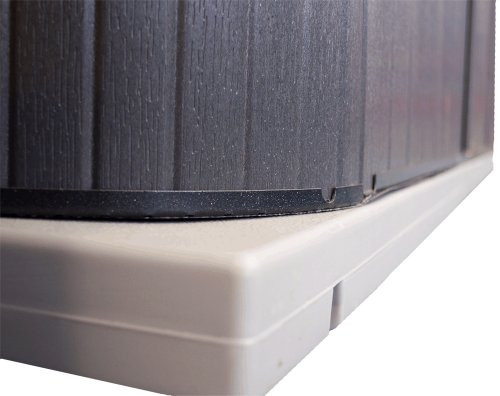 qca-spas-sp3248-handi-hot-tub-pad-32-by-48-inch-gray