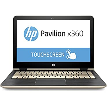 HP Pavilion x360 m3-u103dx 2-in-1 13.3 Touch-Screen Laptop m3-u103dx 7th Gen Intel Core i5-7200U 8GB Memory 128GB Solid State Drive Gold