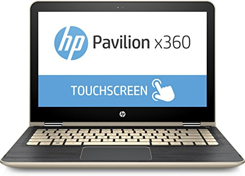 HP – Pavilion x360 2-in-1 13.3″ Touch-Screen Laptop m3-u103dx – 7th Gen Intel Core i5-7200U – 8GB Memory – 128GB Solid State Drive – Gold