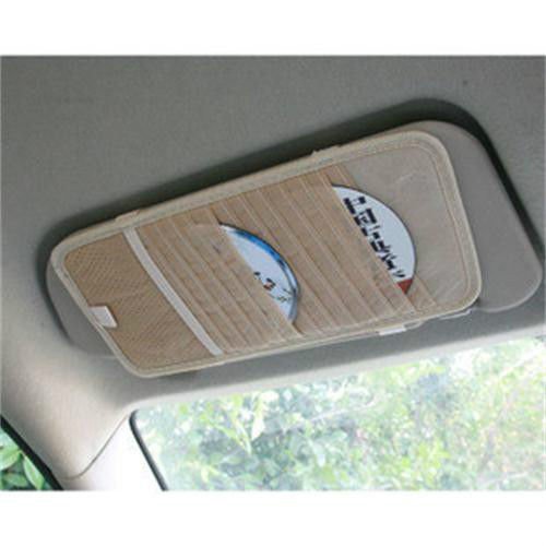 VIPASNAM-12 tablets Car CD Case Receive Bag For CD Holder Auto Accessories Car Decor - Cleveland Malls Ohio Outlet