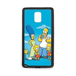 The Simpsons Samsung Galaxy Note 4 Cell Phone Case Black J9902141