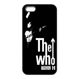 High Quality Phone Back Case Pattern Design 17Popular Music Band THE WHO Series- For Apple Iphone 5 5S Cases