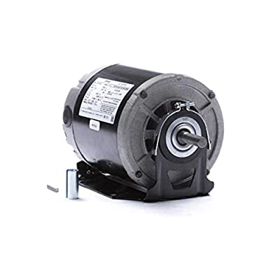 Century GF2024 1/4 For hp 1725 RPM 48 Frame 115V Belt Drive Furnace Motor